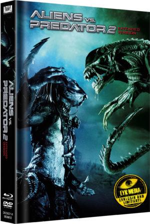 Aliens vs. Predator 2 Mediabook Limitiert auf 333 Cover B