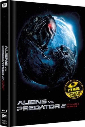 Aliens vs. Predator 2 Mediabook Limitiert auf 333 Cover C