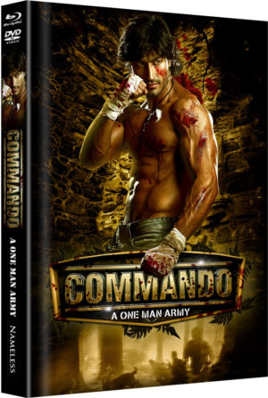 Commando Mediabook Cover A limitiert auf 222