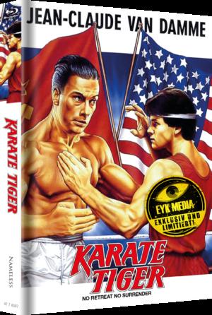 Karate Tiger Mediabook Cover F Kinoplakat Limitiert auf 500