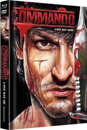 Commando Mediabook Cover C  limitiert auf 333