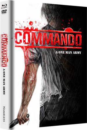 Commando Mediabook Cover D  limitiert auf 333