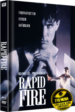 Rapid Fire Mediabook Cover B Limitiert auf 500