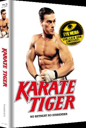 Karate Tiger Mediabook Cover E Wattiert Limitiert auf 500