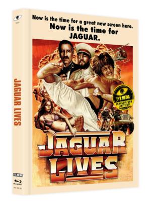 Jaguar Lebt! Mediabook Cover A Limitiert 333
