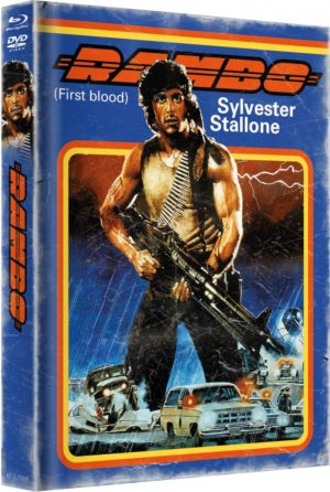 Rambo 1 Mediabook Cover B Limitiert auf 999