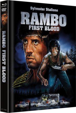 Rambo 1 Mediabook Cover A Limitiert auf 666