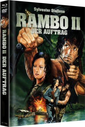 Rambo 2 Mediabook Cover A Limitiert auf 666