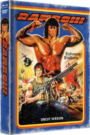 Rambo 3 Mediabook Cover B Limitiert auf 999