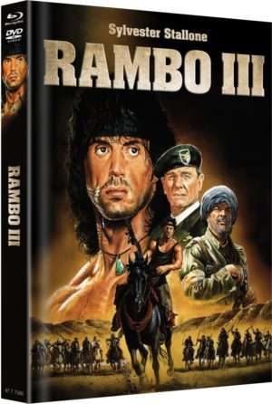 Rambo 3 Mediabook Cover A Limitiert auf 666