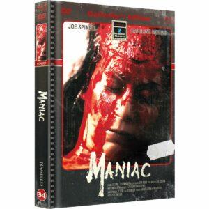 MANIAC – COVER B – RETRO