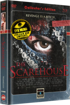 THE SCAREHOUSE – COVER C – RETRO-LIMITIERT 333