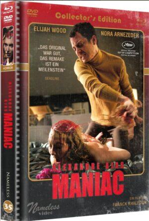 Maniac 2012 Mediabook Cover B