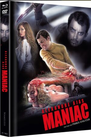 Maniac 2012 Mediabook Cover C