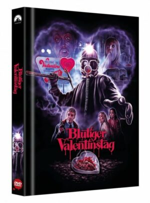 Blutiger Valentinstag – Limited Collector's Edition – Cover B [DVD]