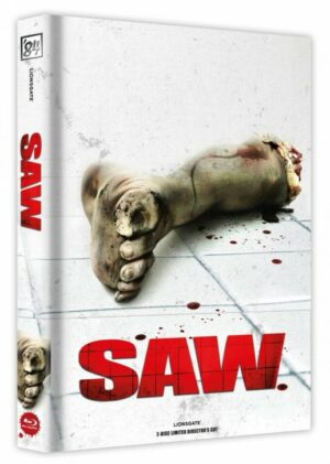 Saw – Limited Collector's Edition – Cover A Wattiert Blu Ray/DVD