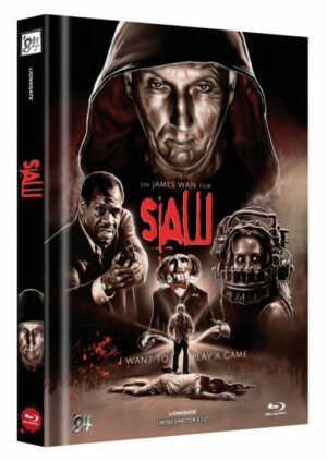 Saw – Limited Collector's Edition – Cover B [Blu-ray]