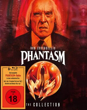 Phantasm – The Collection – Collectionbook im Schuber (+ Bonus-Blu-ray)