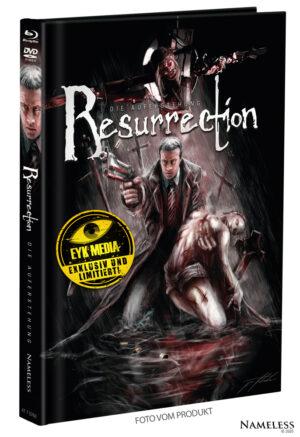 RESURRECTION – MEDIABOOK – COVER A – ARTWORK