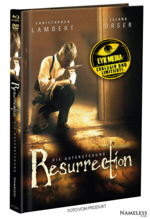 RESURRECTION – MEDIABOOK – COVER B – ORIGINAL