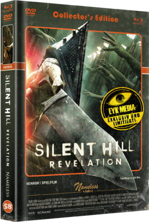 SILENT HILL REVELATION – MEDIABOOK – COVER C – RETRO