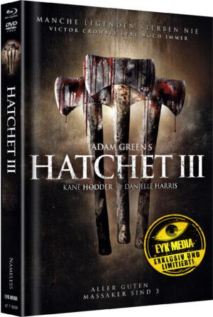 HATCHET 3 MEDIABOOK COVER B