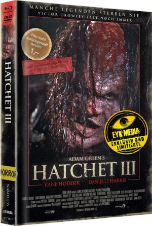 HATCHET 3 MEDIABOOK COVER C