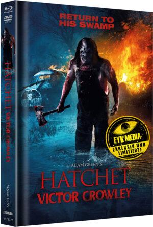 HATCHET 4 VICTOR CROWLEY MEDIABOOK COVER A