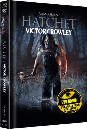 HATCHET 4 VICTOR CROWLEY MEDIABOOK COVER B