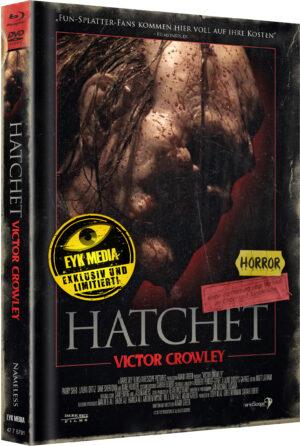 HATCHET 4 VICTOR CROWLEY MEDIABOOK COVER C