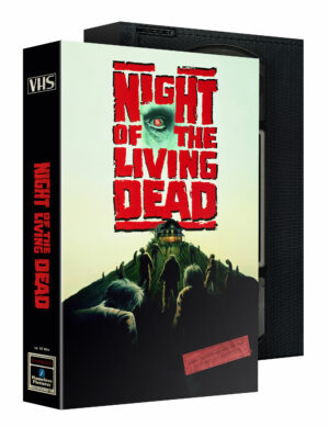 NIGHT OF THE LIVING DEAD VHS SLIPCASE EDITION