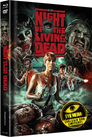 NIGHT OF THE LIVING DEAD MEDIABOOK COVER B