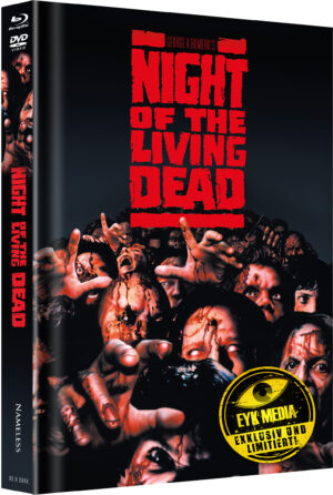 NIGHT OF THE LIVING DEAD MEDIABOOK COVER E