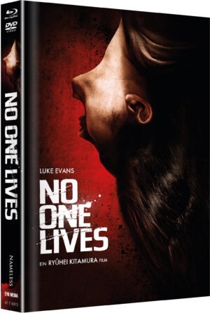 NO ONE LIVES MEDIABOOK COVER A