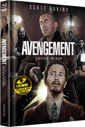AVENGEMENT MEDIABOOK COVER G LIMITIERT 400