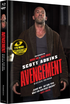 AVENGEMENT MEDIABOOK COVER H LIMITIERT 400