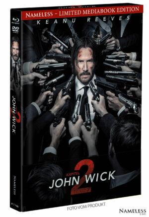JOHN WICK 2 MEDIABOOK COVER A