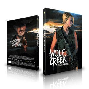 Wolf Creek – Staffel 1 – Limited Mediabook – Cover A [Blu-ray]