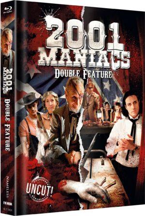 2001 MANIACS DOUBLE FEATURE MEDIABOOK
