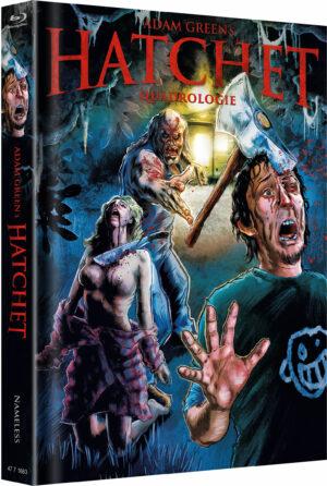 HATCHET QUADRLOGIE 1-4 MEDIABOOK COVER A