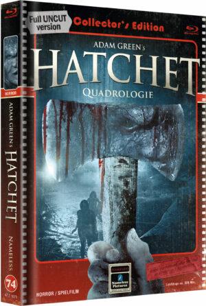 HATCHET QUADRLOGIE 1-4 MEDIABOOK COVER B